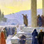 The Pentecost Sermon, by Gebhard Fugel
