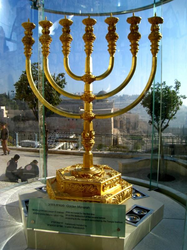 Gold, Third Temple, Menorah