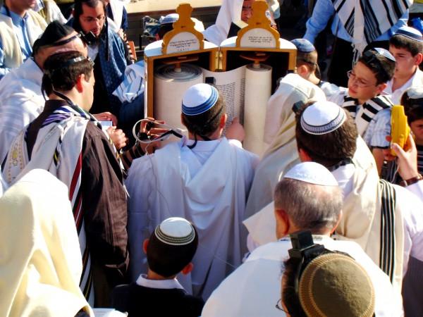 Reading the Torah scroll, Bar Mitzva, Western (Wailing) Wall